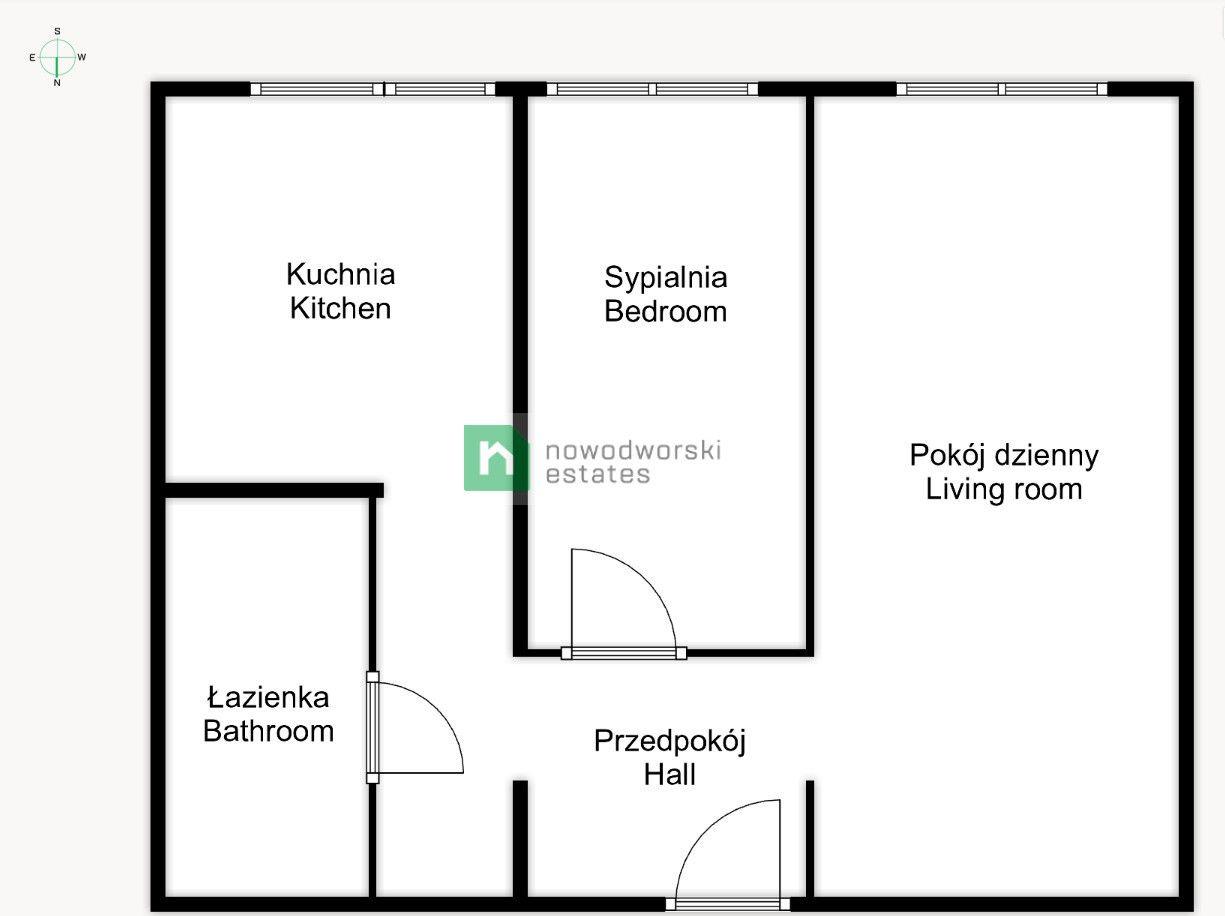 Mieszkanie do wynajęcia Wrocław, Krzyki / Południe ul. Lubuska  2 pokojowe mieszkanie po generalnym remoncie I pierwszy najem I ul. Lubuska floorplan