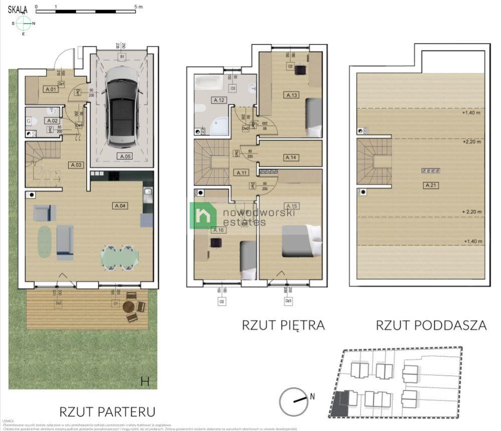 Dom na sprzedaż Wrocławski, Kobierzyce / Tyniec Mały ul. Domasławska Tyniec Mały - ostatni dom / bliźniak na sprzedaż floorplan