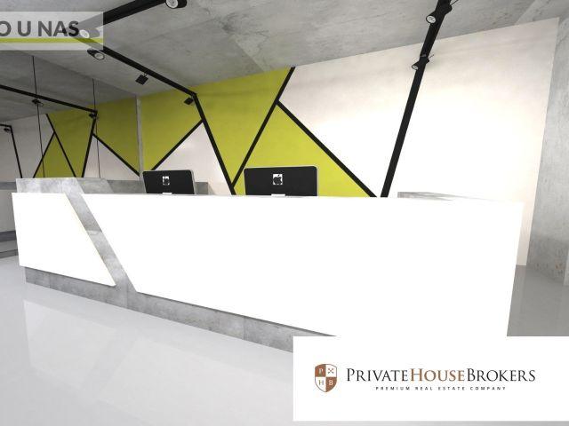 Nowoczesna powierzchnia biurowa open space 189m2 Pawia