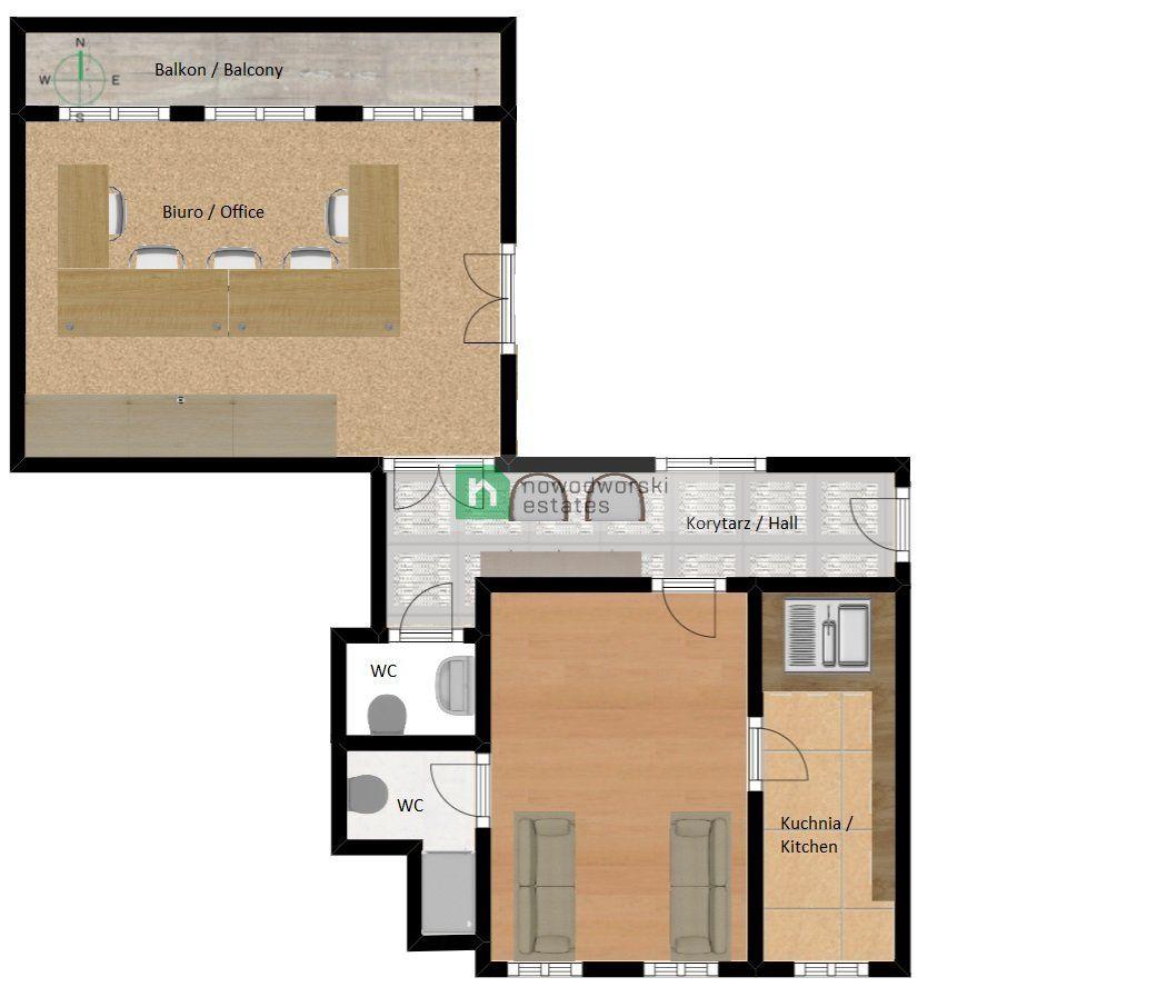 Lokal do wynajęcia Gliwice, Centrum ul. Norberta Barlickiego  Lokal na wynajem w prestiżowej lokalizacji  floorplan
