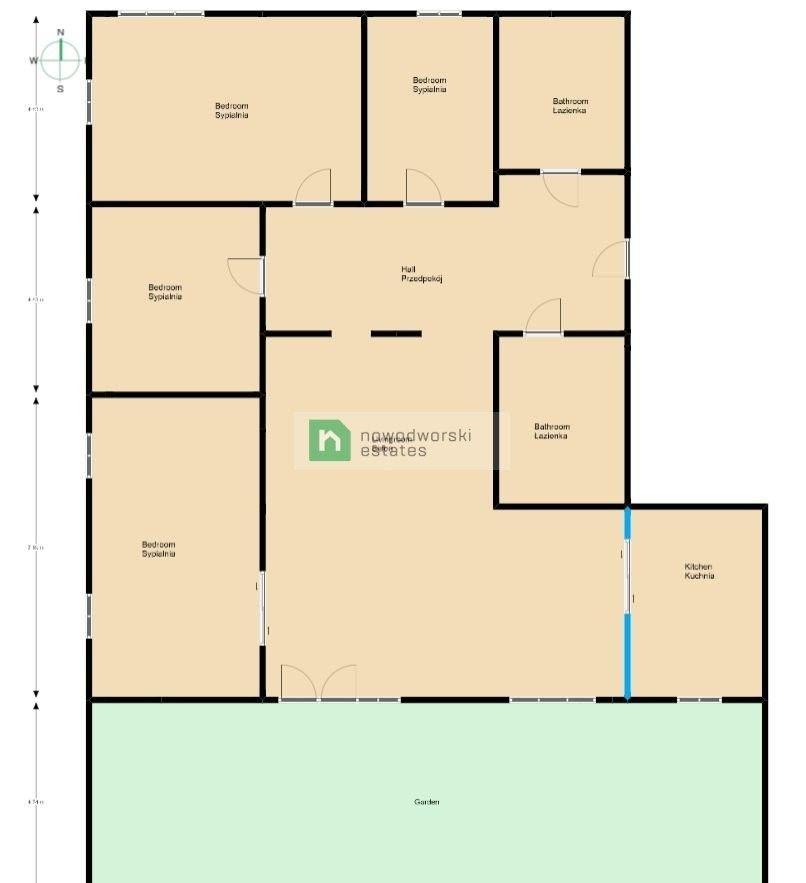 Mieszkanie na sprzedaż Kraków, Podgórze / Ludwinów ul. Ludwinowska Rodzinny 200 metrowy apartament przy Wiśle. floorplan
