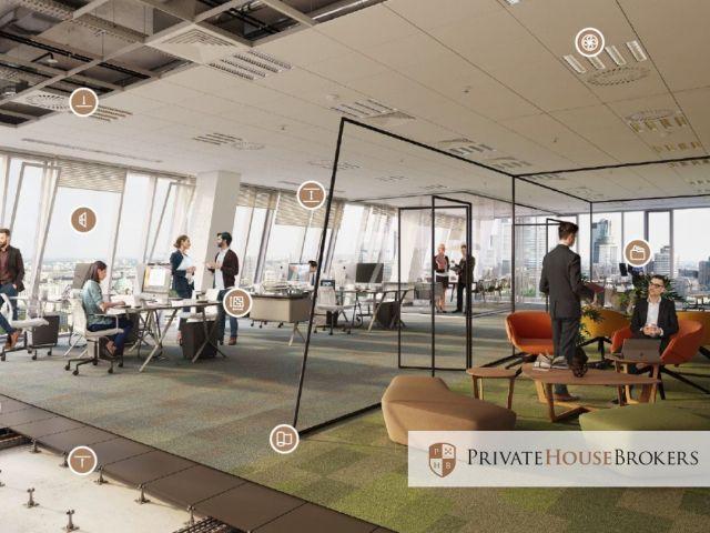 Biura i powierzchnie biurowe do wynajęcia Kraków. Lokale od 300 m2, atrakcyjny fit out!