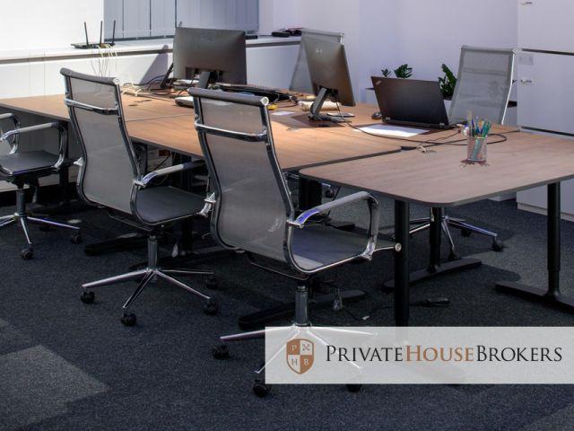 W pełni wyposażone biuro dla 3 osób. Dogodna lokalizacja, atrakcyjne warunki najmu!