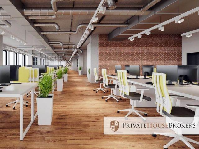 Nowoczesne, ergonomiczne, w pełni wykończone i wyposażone biuro dla 10 pracowników.