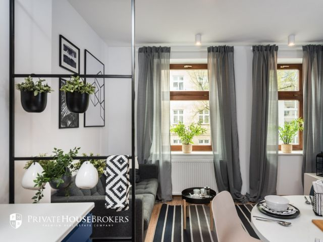 Kawiory, Miechowska, 51m²: nowoczesne 3 pokoje przy Parku Jordana