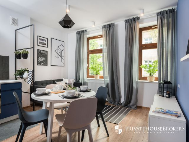 Miechowska, 51m²: modern 3-room apartment in the city center
