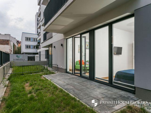 Słomnicka, 35m²: świetne 2 pokoje z ogródkiem w centrum, blisko Nowy Kleparz