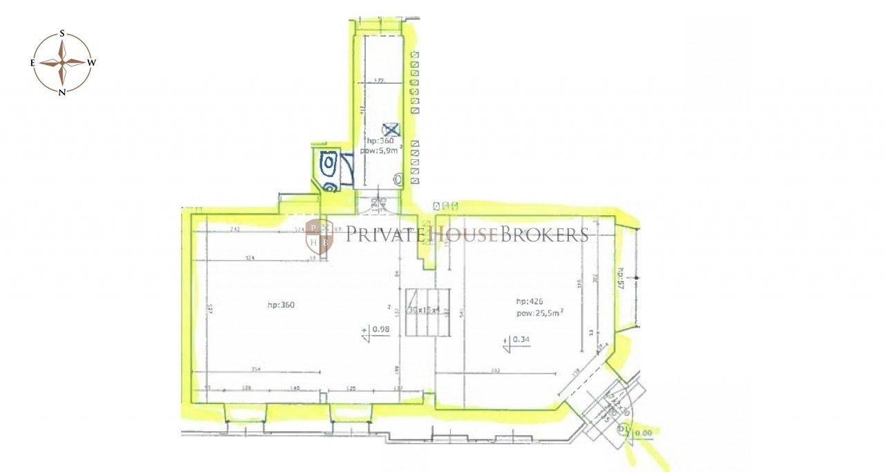 Parterowy lokal handlowy 72m2, z dużymi witrynami, ruchliwa ulica, blisko przystanków