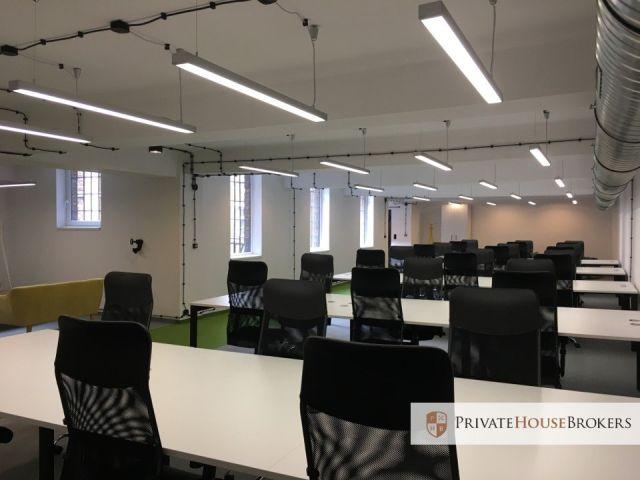 Lokal biurowy 350m2 w industrialnym budynku. Nieprzeciętny design i loftowy klimat w centrum Krakowa