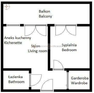 Stylowe 2 pokojowe mieszkanie! Pianissimo!