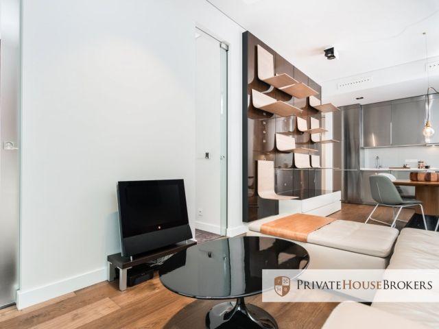 Wykończony w bardzo wysokim standardzie 2 pokojowy apartment z widokiem na Park Jordana