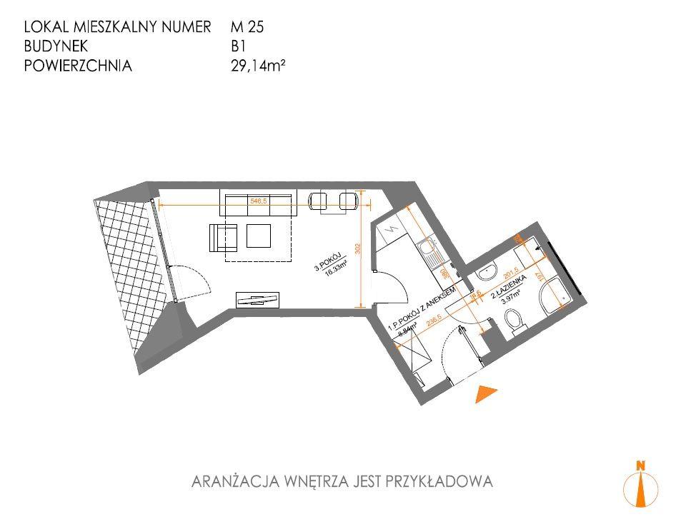 Mieszkanie Mogilska 29 mkw idealne pod inwestycję