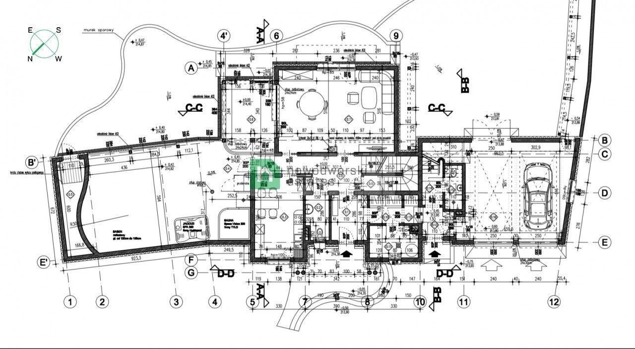 Dom na sprzedaż Wrocławski, Sobótka ul. Różana Rozpoczęta budowa w znakomitej lokalizacji floorplan
