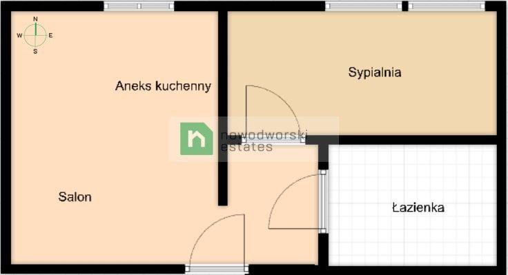 Mieszkanie na sprzedaż Warszawa, Śródmieście ul. Wilcza  Stylowa kawalerka w przedwojennej kamienicy w samym sercu Śródmieścia floorplan