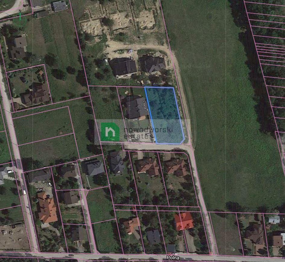 Grunt na sprzedaż Pruszkowski, Brwinów / Kanie ul. Polna  Piękna działka budowlana w malowniczej okolicy floorplan