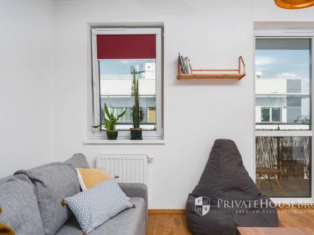 Przytulne studio z balkonem w kameralnej inwestycji na Bronowicach