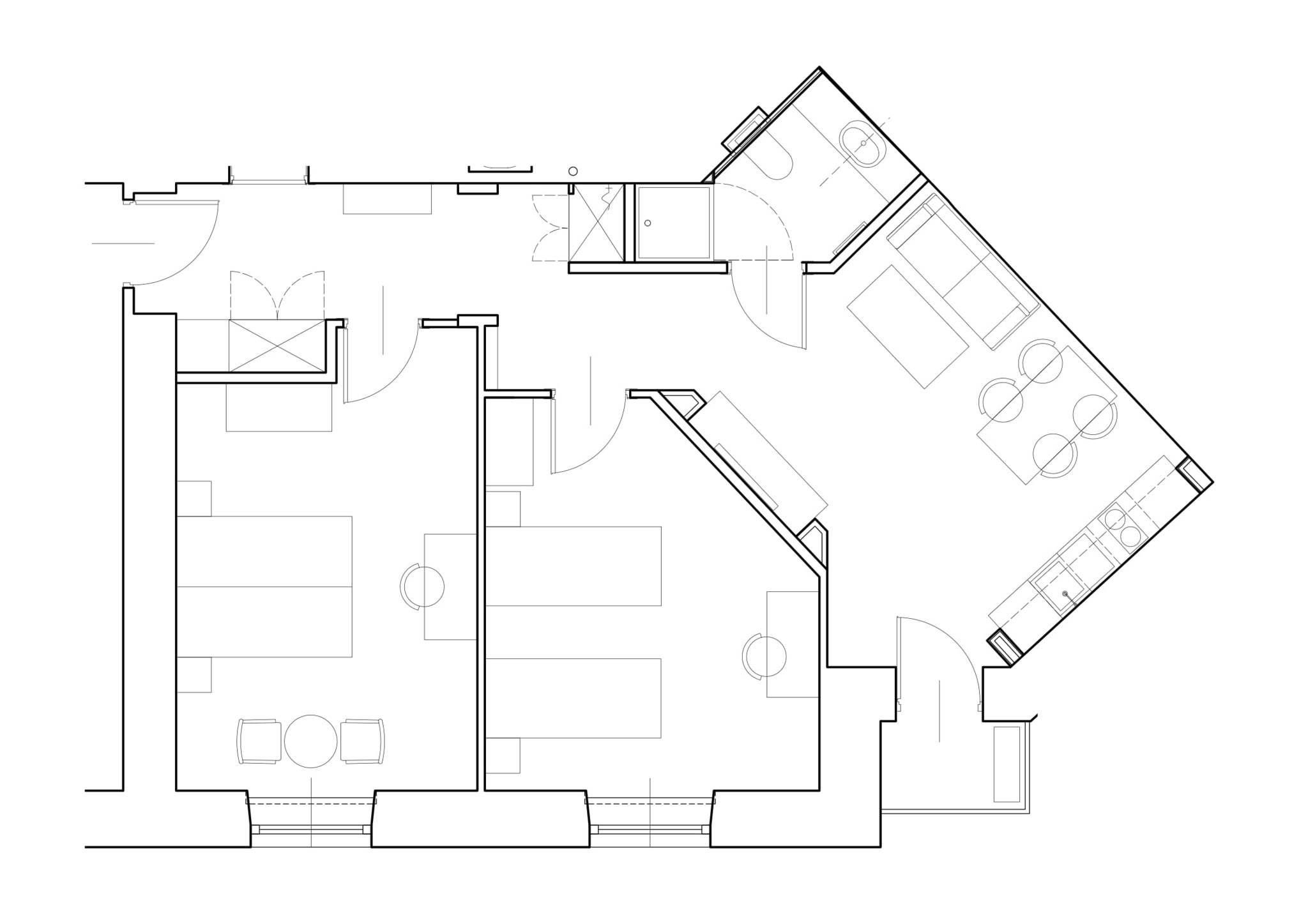 Nowoczesne 3-pokojowe mieszkanie przy Placu na Groblach