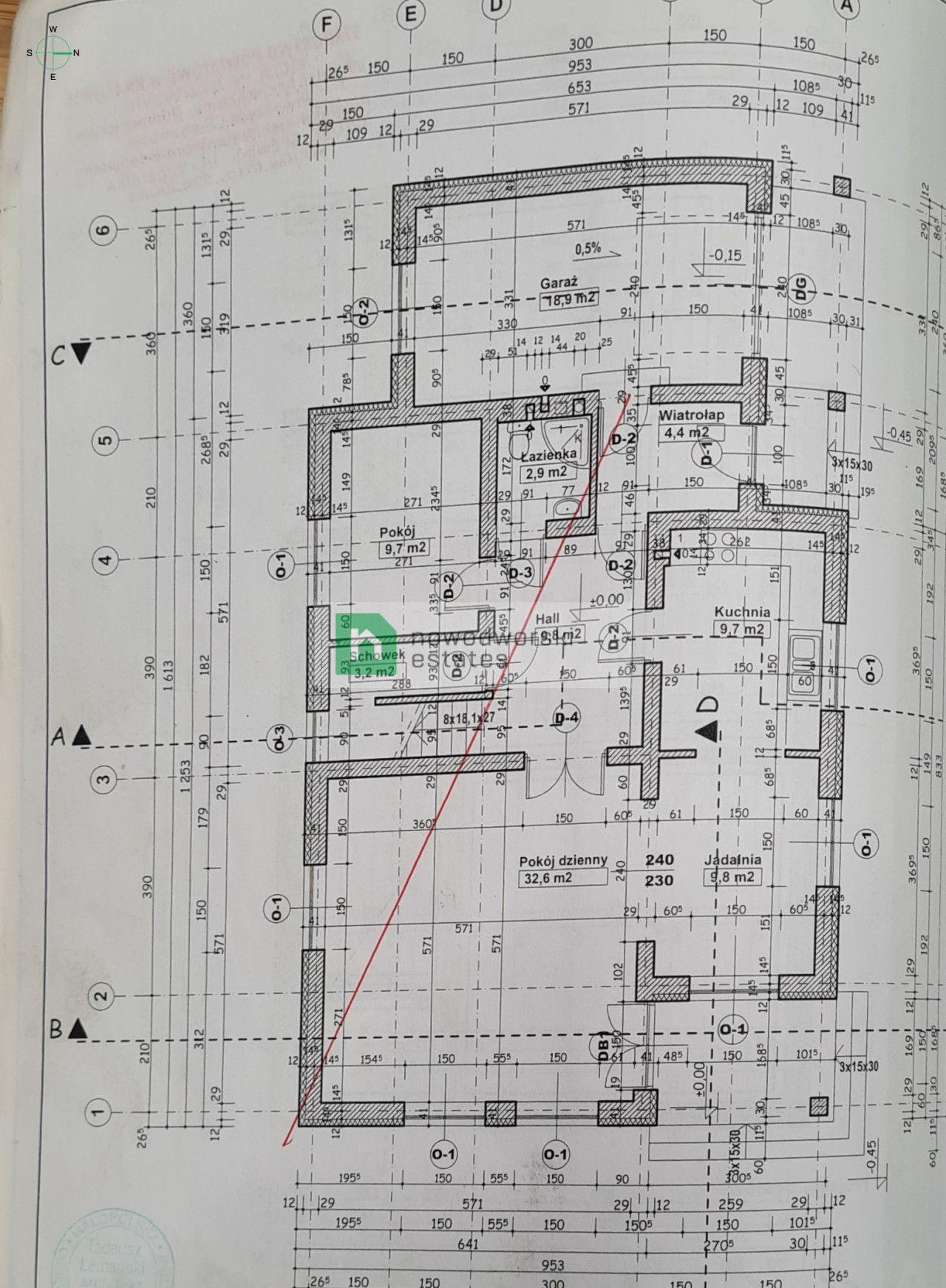 Dom na sprzedaż Krakowski, Mogilany   floorplan