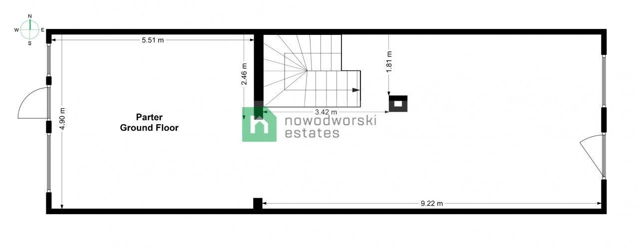 Lokal do wynajęcia Głogowski, Głogów / Stare Miasto ul. Grodzka Kamienica na Starym Mieście   285 m2 floorplan