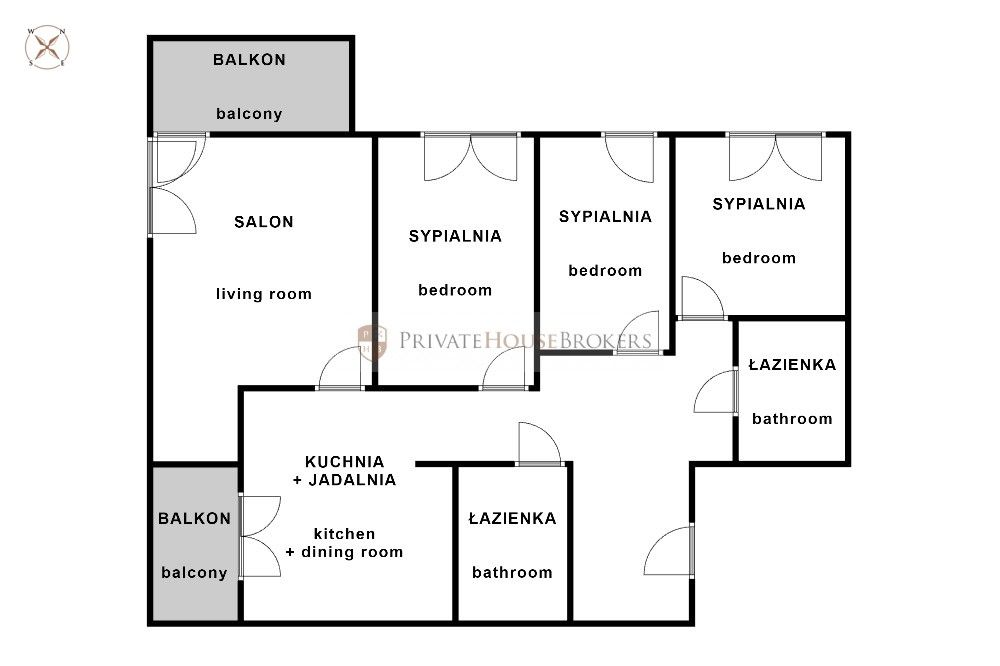 Bajeczna, 82m²: a new 4-room apartment with a garage