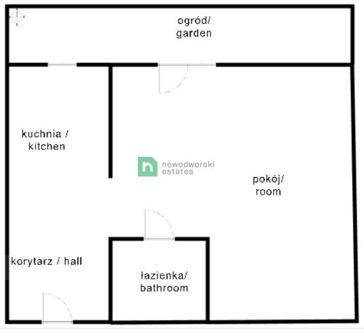 Mieszkanie na sprzedaż Kraków, Śródmieście / Grzegórzki ul. Wincentego Pola Kawalerka na sprzedaż, inwestycyjnie floorplan