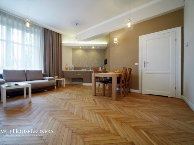 1-bedroom apartment on Plac na Groblach
