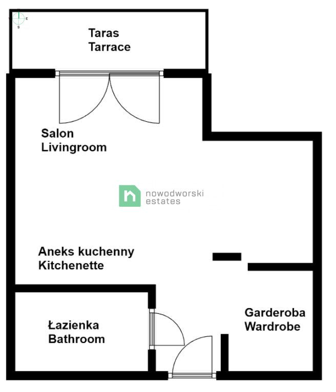 Mieszkanie do wynajęcia Kraków, Śródmieście ul. Rakowicka Nowy apartament Kraków, Śródmieście / Rakowicka floorplan