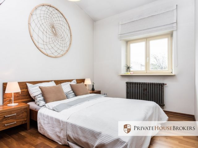 A climatic flat with a mezzanine, Wolnica street