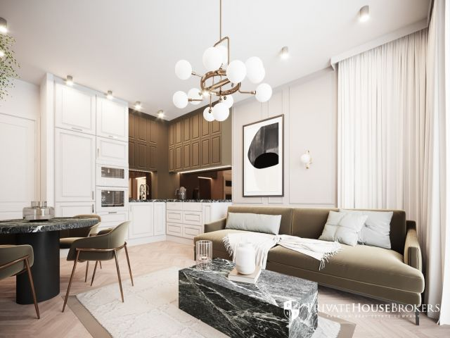Spacious apartment in renovated building