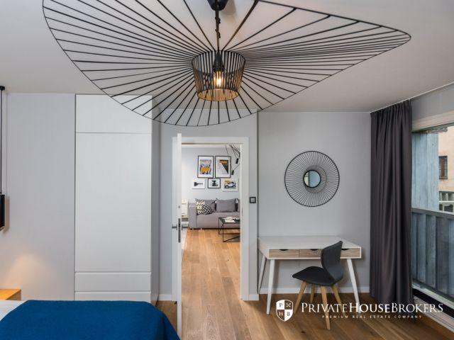 Wyjątkowy dwupokojowy apartament na wynajem w sercu kazimierza
