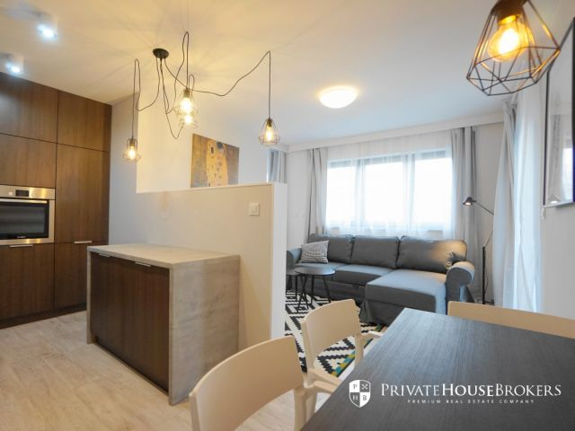 Two-bedroom apartment in Fabryka Czekolady