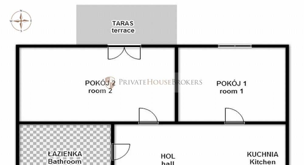 Functional 2 room apartment at Rakowicka st. - Novum Apartments