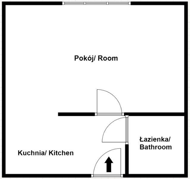 Studio 30m2 po remoncie, ul. Wrocławska