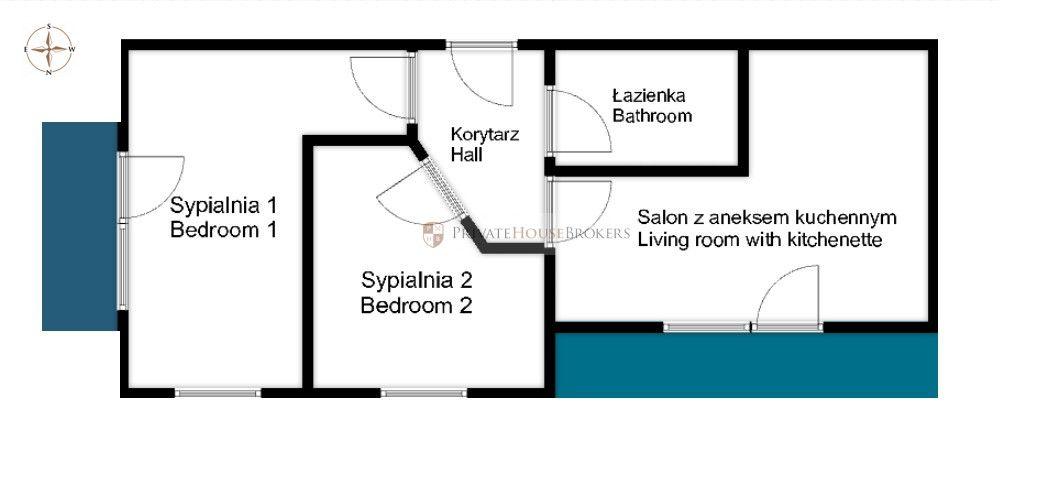 3 pokojowe mieszkanie na Bronowicach - Złota Podkowa