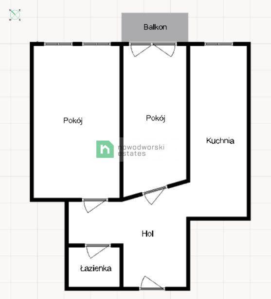 Mieszkanie na sprzedaż Wrocław, Krzyki ul. Żelazna  Mieszkanie do remontu 64 m2 ul. Żelazna Krzyki  floorplan