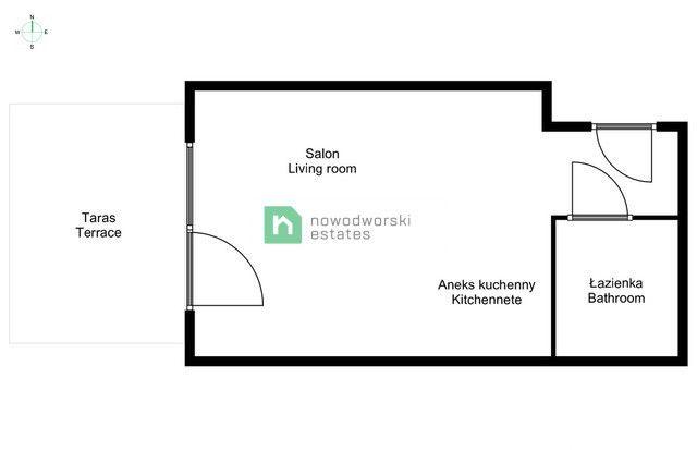 Mieszkanie do wynajęcia Wrocław, Fabryczna ul. Przedmiejska  Kawalerka SOFT LOFTY ul. Przedmiejska, FAKTURA  floorplan