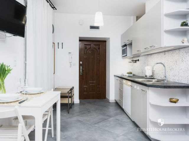 Cozy studio apartment in the city center at Cieszynska street