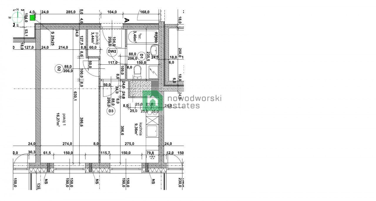 Mieszkanie do wynajęcia Wrocław, Fabryczna / Popowice ul. Niedźwiedzia  Nowy apartament w Pixel House Legnicka Magnolia  floorplan