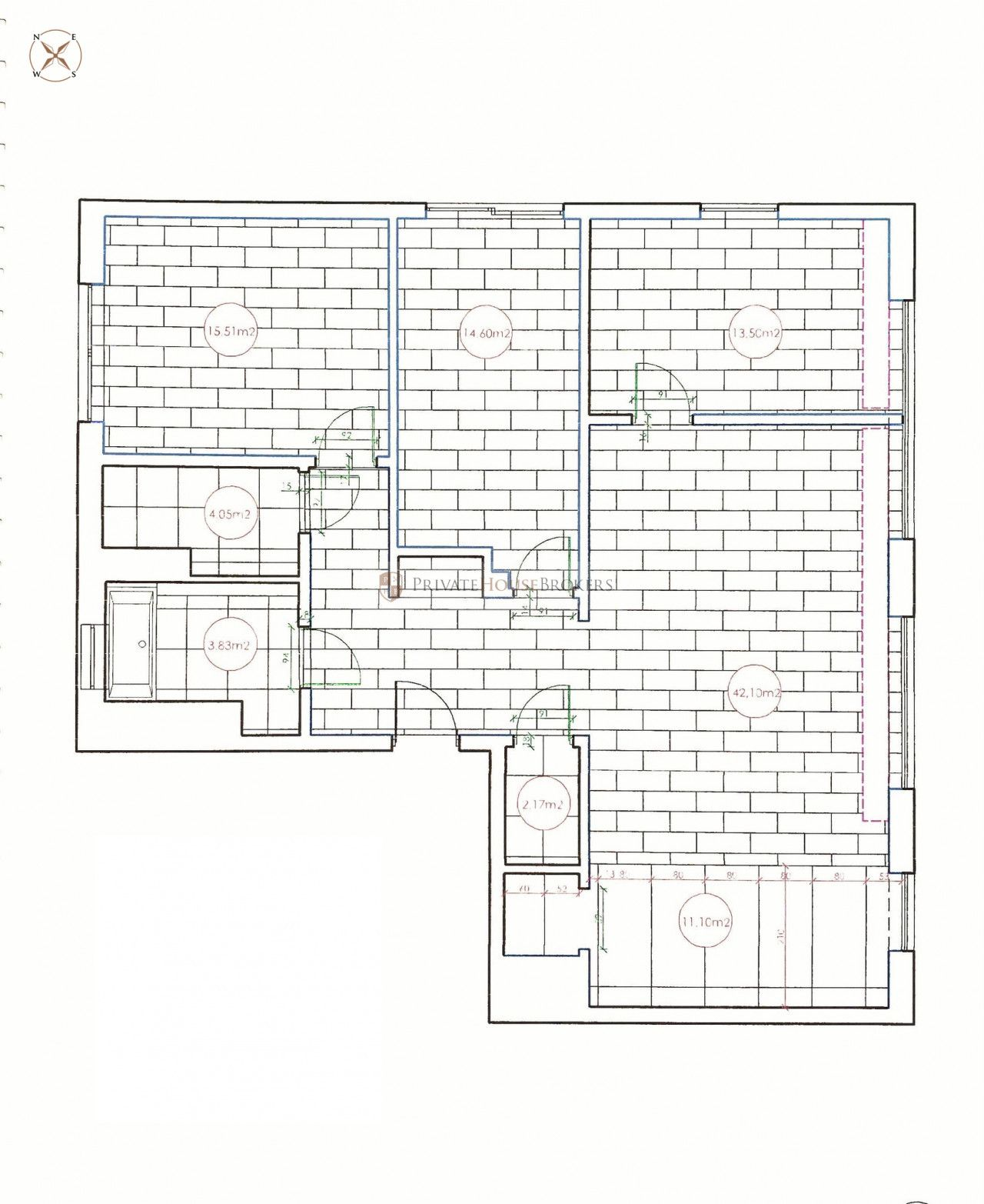 Mieszkanie na sprzedaż Kraków, Podgórze / Dębniki ul. Czarodziejska APARTAMENT W NAJLEPSZEJ LOKALIZACJI W KRAKOWIE floorplan
