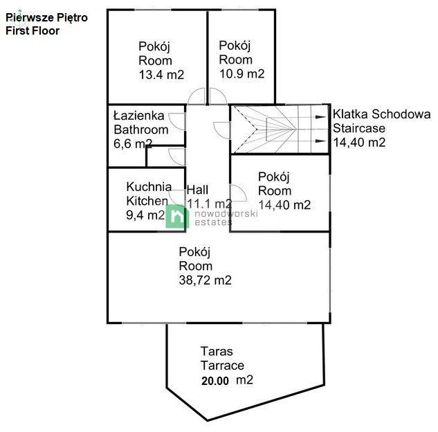 Lokal na sprzedaż Kraków, Podgórze / Dębniki ul. Michała Bałuckiego  Inwestycyjny 4- kondygnacyjny budynek w prestiżowej, spokojnej dzielnicy Stare Dębniki floorplan