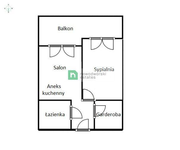 Mieszkanie do wynajęcia Kraków, Podgórze ul. Rydlówka Przestronne mieszkanie z tarasem ul. Rydlówka floorplan