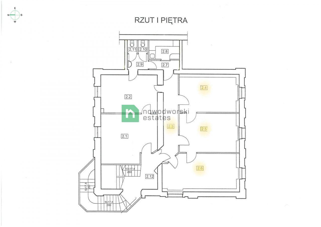 Lokal do wynajęcia Kraków, Śródmieście / Kazimierz ul. Berka Joselewicza Lokale biurowe w centrum miasta, Kazimierz floorplan