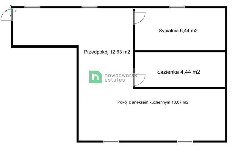 Mieszkanie do wynajęcia Wrocław, Śródmieście ul. Księcia Józefa Poniatowskiego  Apartament typu PREMIUM w luksusowej inwestycji (okolice Pl. Bema) floorplan