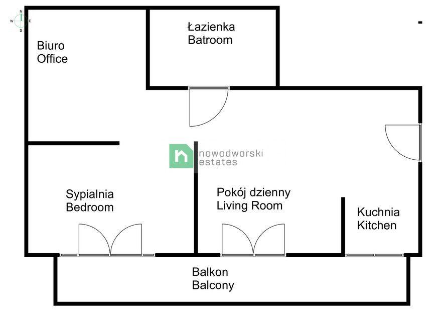 Mieszkanie do wynajęcia Kraków, Śródmieście / Stare Miasto ul. Stolarska  Klimatyzowany apartament zaprojektowany z dbałością o każdy detal, Stare Miast ul. Stolarska floorplan