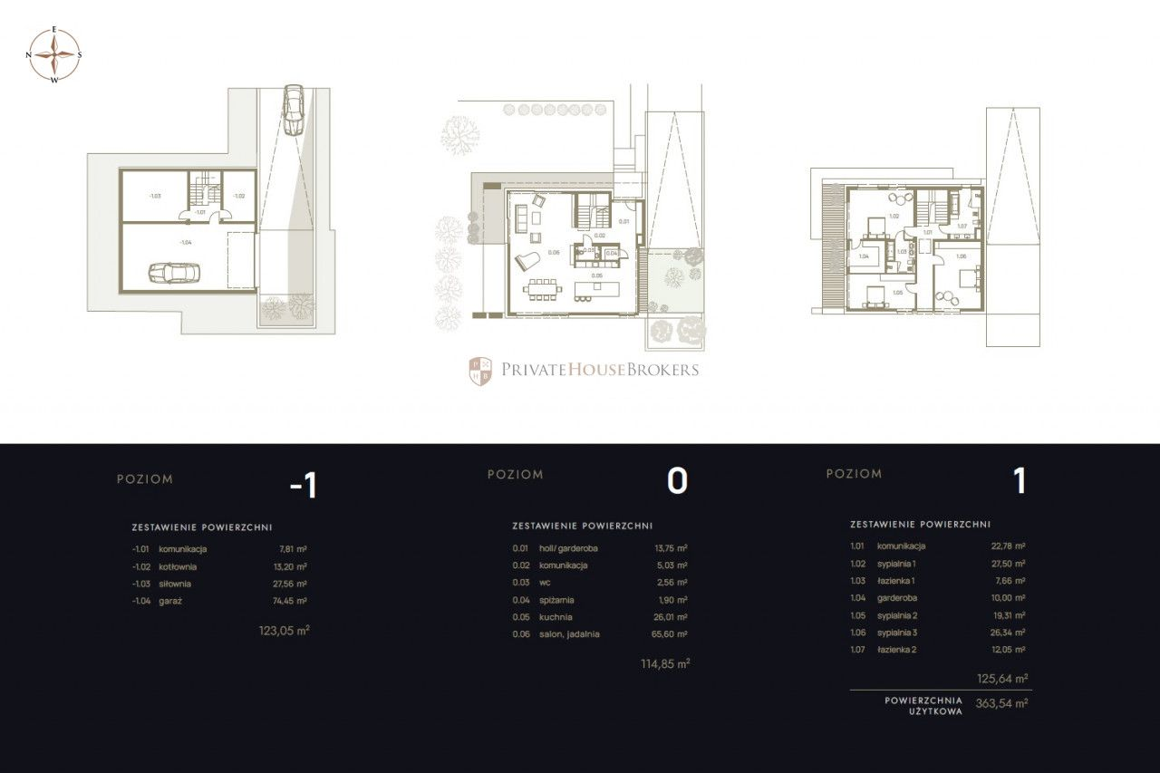 Ultra luksusowa nowoczesna willa miejska 364 m2 z garażem na 4 samochody, siłownią i salą kinową Woli Justowskiej