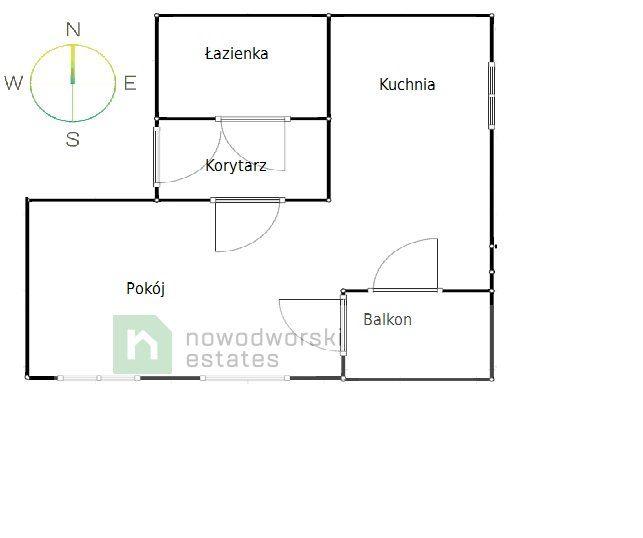 Mieszkanie do wynajęcia Kraków, Krowodrza / Bronowice ul. Stańczyka Nowoczesne, 40m studio z balkonem i garażem ul. Stańczyka floorplan