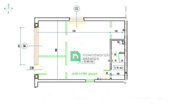 Mieszkanie na sprzedaż Wrocław, Krzyki / Klecina ul. Goleszan  Lokal/mieszkanie do zaaranżowania | 52 m2, Klecina  floorplan