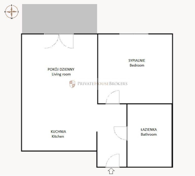 Brand new one-bedroom apartment at Chełmońskiego st. - Bronowice Residence VI