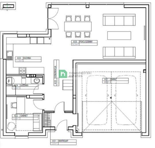 Dom na sprzedaż Krakowski, Zielonki / Węgrzce  Nowoczesny dom Premium o powierzchni 192 m2 z tarasem i dużym ogrodem w Węgrzcach floorplan