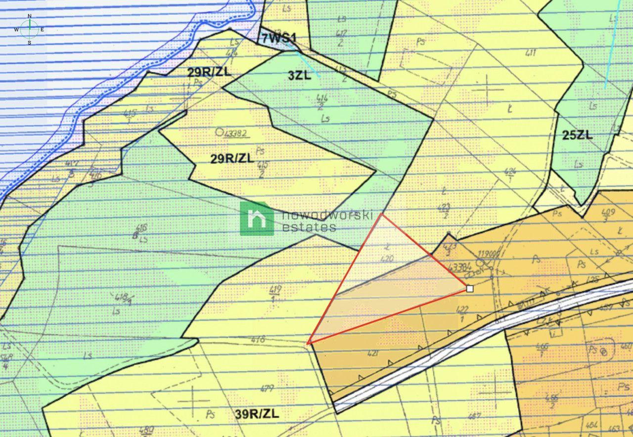 Lot for Sale Myślenicki, Dobczyce / Brzezowa  Attractive building plot 0.38HA, Brzezowa floorplan